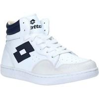 Scarpe Uomo Sneakers alte Lotto L56883 Bianco