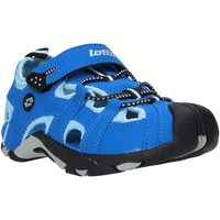 Scarpe Unisex bambino Sandali Lotto L49353 Blu