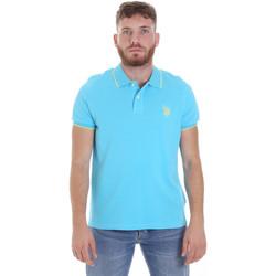 Abbigliamento Uomo Polo maniche corte U.S Polo Assn. 58561 41029 Blu