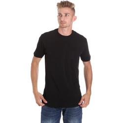 Abbigliamento Uomo T-shirt maniche corte Les Copains 9U9010 Nero