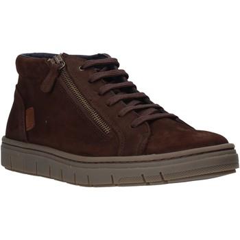 Scarpe Uomo Sneakers alte Grunland PO1717 Marrone