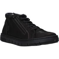 Scarpe Uomo Sneakers alte Grunland PO1717 Nero