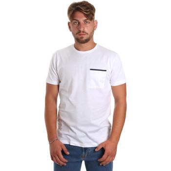 Abbigliamento Uomo T-shirt maniche corte Antony Morato MMKS01798 FA100212 Bianco