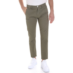Abbigliamento Uomo Chino Sseinse PSE558SS Verde