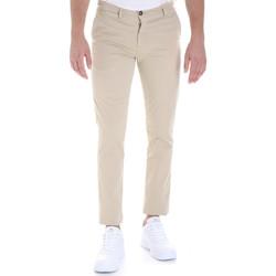 Abbigliamento Uomo Chino Les Copains 9U3320 Beige