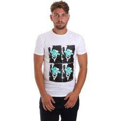 Abbigliamento Uomo T-shirt maniche corte Antony Morato MMKS01743 FA120001 Bianco