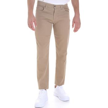 Abbigliamento Uomo Pantaloni 5 tasche Les Copains 9U3022 Beige