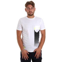Abbigliamento Uomo T-shirt maniche corte Antony Morato MMKS01794 FA100189 Bianco