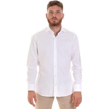 Abbigliamento Uomo Camicie maniche lunghe Les Copains 000.076 P3196 Bianco