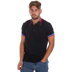 Abbigliamento Uomo Polo maniche corte Antony Morato MMKS01805 FA100213 Blu
