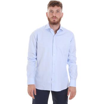 Abbigliamento Uomo Camicie maniche lunghe Les Copains 20P.887 P3196SL Blu