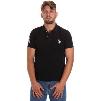 Abbigliamento Uomo Polo maniche corte U.S Polo Assn. 55985 41029 Nero