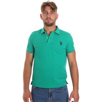 Abbigliamento Uomo Polo maniche corte U.S Polo Assn. 55985 41029 Verde