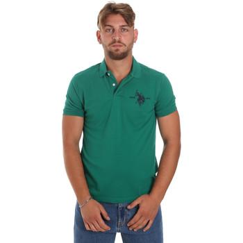 Abbigliamento Uomo Polo maniche corte U.S Polo Assn. 55959 41029 Verde