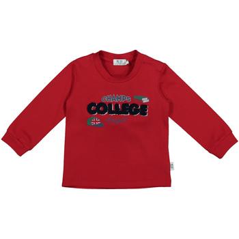 Abbigliamento Unisex bambino T-shirts a maniche lunghe Melby 20C0280 Rosso