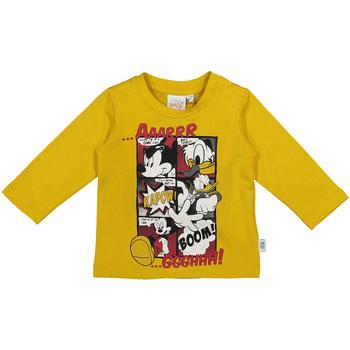 Abbigliamento Unisex bambino T-shirts a maniche lunghe Melby 20C2040DN Giallo
