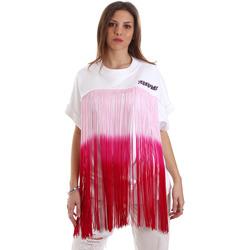 Abbigliamento Donna Felpe Versace B6HVB76713956003 Bianco