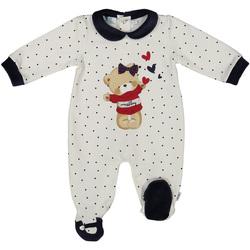 Abbigliamento Unisex bambino Tuta jumpsuit / Salopette Melby 20N0681 Bianco