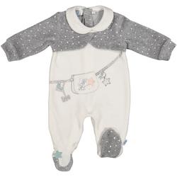 Abbigliamento Unisex bambino Tuta jumpsuit / Salopette Melby 20N0781 Bianco