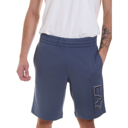Abbigliamento Uomo Shorts / Bermuda Ea7 Emporio Armani 3HPS73 PJ05Z Blu