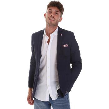 Abbigliamento Uomo Giacche / Blazer Sseinse GAE606SS Blu