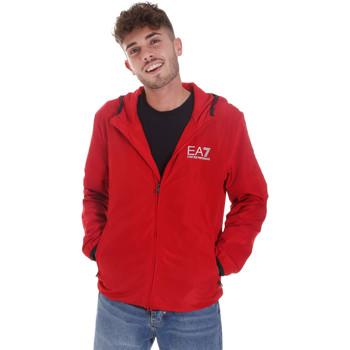 Abbigliamento Uomo Giacche sportive Ea7 Emporio Armani 8NPB04 PNN7Z Rosso