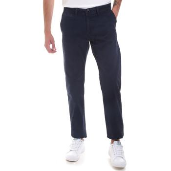 Abbigliamento Uomo Chino Gaudi 821BU25007 Blu