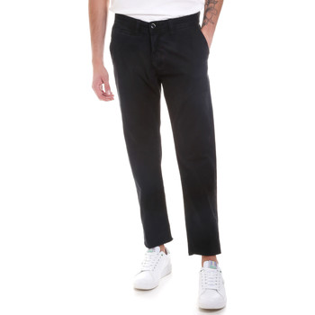 Abbigliamento Uomo Chino Gaudi 821BU25007 Nero