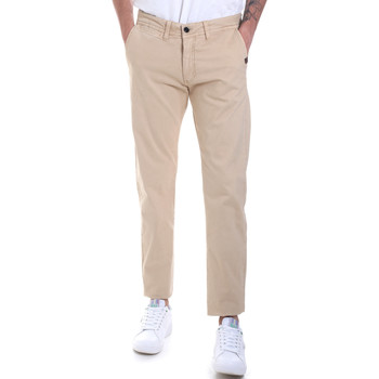 Abbigliamento Uomo Chino Gaudi 821BU25007 Beige