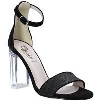 Scarpe Donna Sandali Grace Shoes 018TR003 Nero