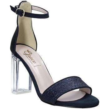 Scarpe Donna Sandali Grace Shoes 018TR003 Blu