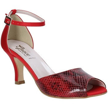 Scarpe Donna Sandali Grace Shoes 928008 Rosso
