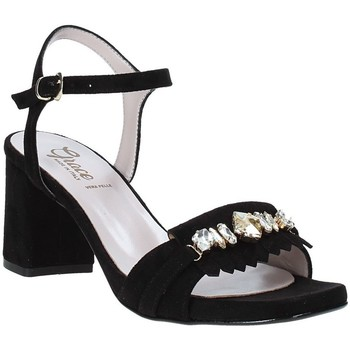 Scarpe Donna Sandali Grace Shoes 116V005 Nero