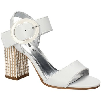 Scarpe Donna Sandali Keys 5726 Bianco