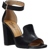Scarpe Donna Sandali Grace Shoes 018N026 Nero