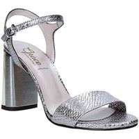 Scarpe Donna Sandali Grace Shoes 2384L007 Grigio