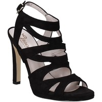 Scarpe Donna Sandali Grace Shoes 2383003 Nero