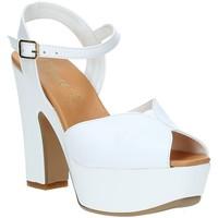 Scarpe Donna Sandali Grace Shoes FLY Bianco