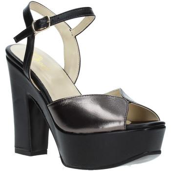 Scarpe Donna Sandali Grace Shoes TQ 074 Nero