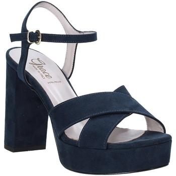 Scarpe Donna Sandali Grace Shoes 492PL003 Blu