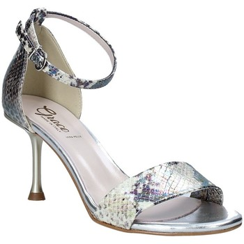 Scarpe Donna Sandali Grace Shoes 492G001 Grigio