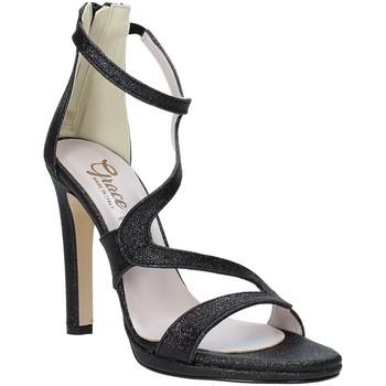 Scarpe Donna Sandali Grace Shoes 2383007 Nero