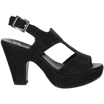 Scarpe Donna Sandali Grace Shoes SOMI Nero