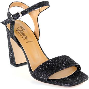 Scarpe Donna Sandali Grace Shoes 2384002 Nero