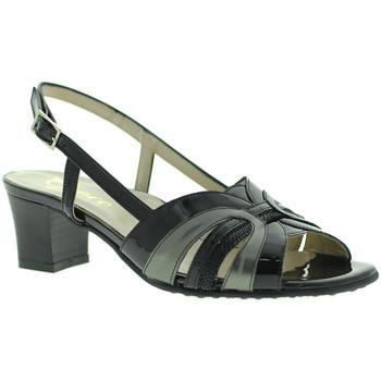 Scarpe Donna Sandali Grace Shoes E5080T Nero