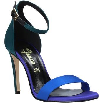Scarpe Donna Sandali Grace Shoes 018Y037 Verde