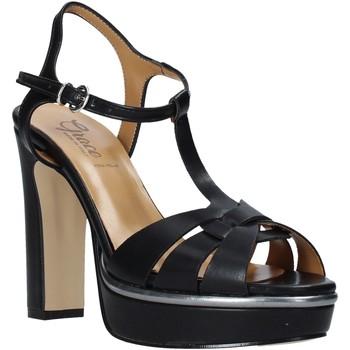 Scarpe Donna Sandali Grace Shoes 5753007 Nero