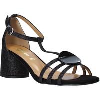 Scarpe Donna Sandali Grace Shoes 123011 Nero