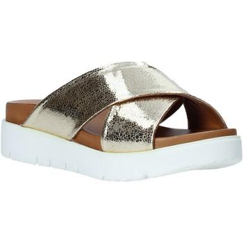 Scarpe Donna Ciabatte Bueno Shoes 9N3408 Oro