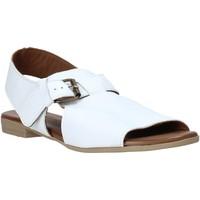 Scarpe Donna Sandali Bueno Shoes 9L2700 Bianco